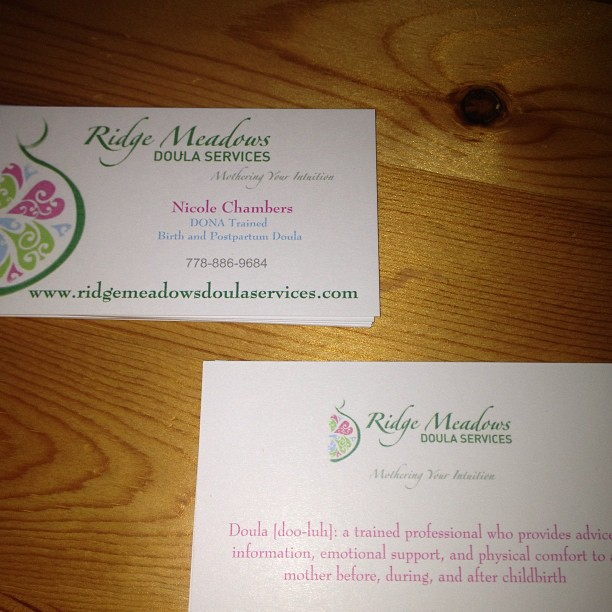 Business cards are in!