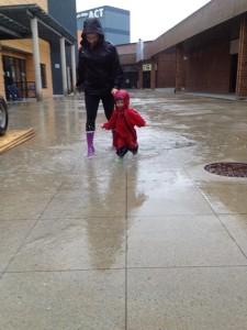 get outside rain