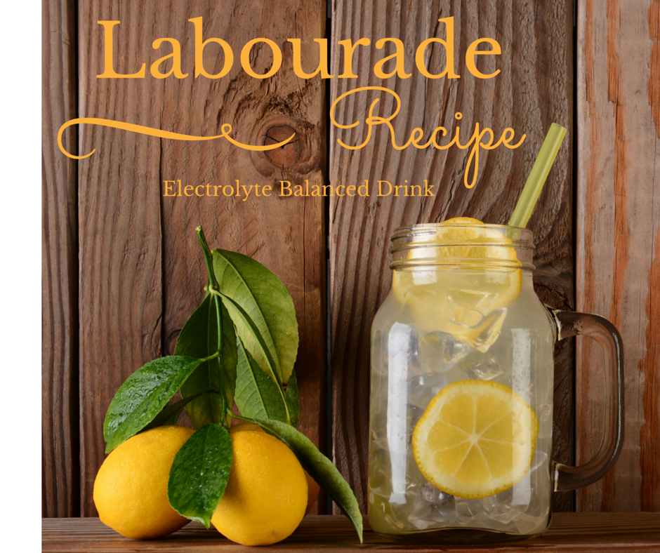 LABOURADE recipe  (Electrolyte balanced drink for labour)