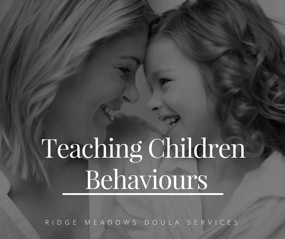 Teaching Children behaviours